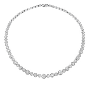 Fulfillment Diamond Line Necklace
